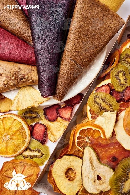 لواشک میوه ای ورقه ای