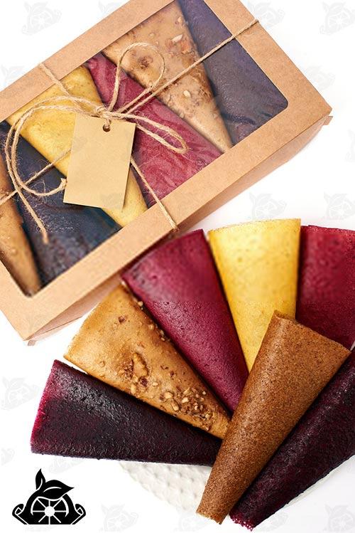 صادرات انواع لواشک ورقه ای به آلمان